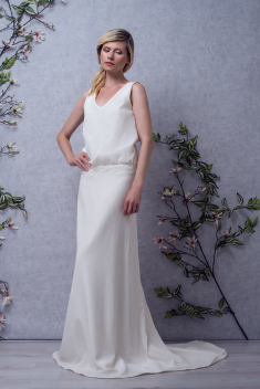 Robe de mariée Hortense par Faith Cauvain collection 2018