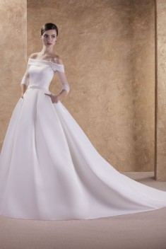 Robe de mariée Ilsa par Jarice collection Pure 2017