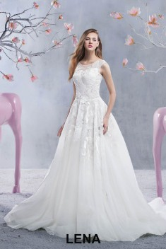 Robe de mariée Lena par Jarice collection Glamour 2017