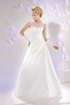 Robe de mariée 165-04 par Just For You collection 2016