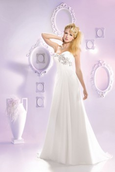 Robe de mariée 165-13 par Just For You collection 2016