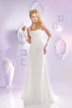 Robe de mariée 165-14 par Just For You collection 2016