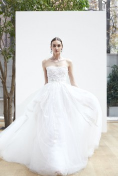 Robe de mariée Lance par Oscar de la Renta collection Spring 2018