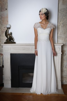 Robe de mariée Lapiz lazulli par Elsa Gary collection 2018