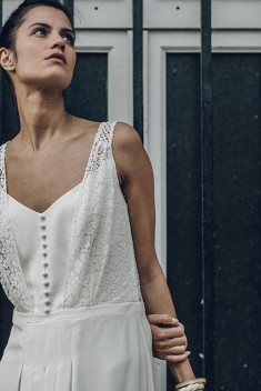 Robe de mariée Malot par Laure de Sagazan collection 2016