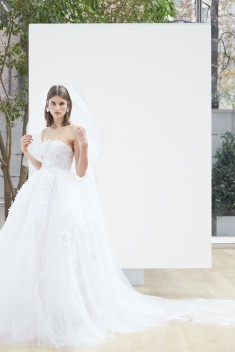 Robe de mariée Lillian par Oscar de la Renta collection Spring 2018