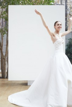 Robe de mariée Lincoln par Oscar de la Renta collection Spring 2018
