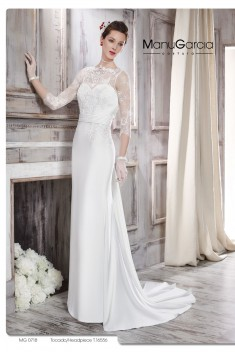 Robe de mariée MG 0718 par Manu Garcia collection 2016