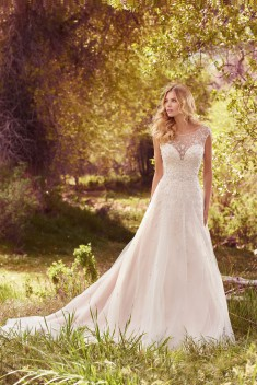 Robe de mariée Fressia par Maggie Sottero collection Avery