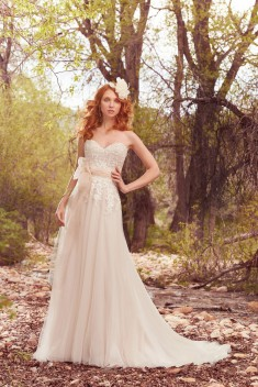Robe de mariée Harmony par Maggie Sottero collection Avery