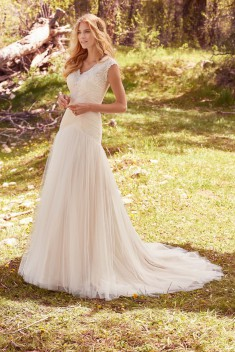 Robe de mariée Heather Marie par Maggie Sottero collection Avery