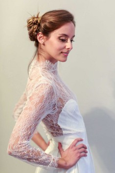Robe de mariée Chloé par Maison Capelier collection 2016