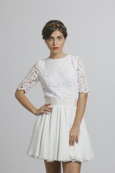 Robe de mariée Ned par Maison Floret collection 2016