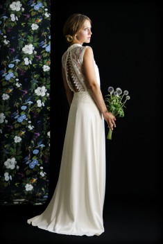 Robe de mariée Jacinthe par Atlier Manon Pascual  collection 2016