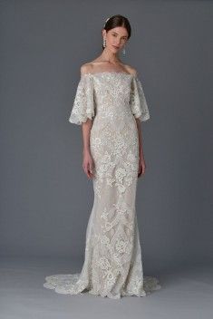 Robe de mariée Look 2 par Marchesa collection 2017
