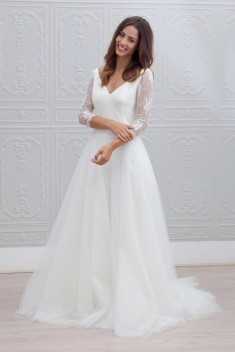 Robe de mariée Marie par Marie Laporte collection 2015