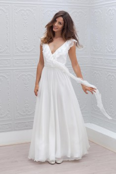 Robe de mariée Maya  par Marie Laporte collection 2015