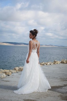 Robe de mariée Aneta par Marie Laporte collection 2016