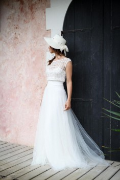 Robe de mariée Ashley par Marie Laporte collection 2016