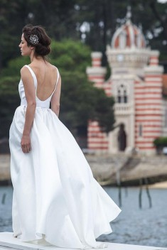 Robe de mariée Laurene par Marie Laporte collection 2016