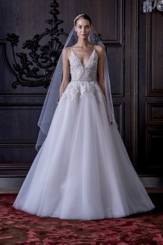 Robe de mariée Ella  par Monique Lhuillier collection 2016