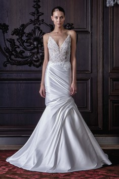 Robe de mariée Hadley par Monique Lhuillier collection 2016