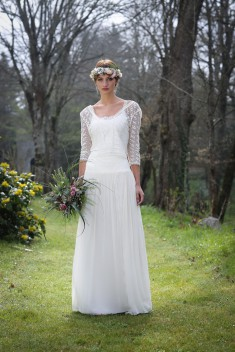 Robe de mariée Nacre par Elsa Gary collection 2018