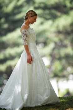 Robe de mariée Niki par Catherine Varnier collection 2017