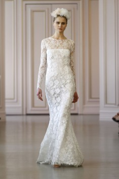 Robe de mariée Look 2  par Oscar de la Renta  collection 2016