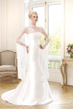 Robe de mariée CALANDRENNI par Pronuptia collection 2015
