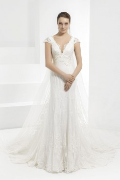 Robe de mariée Novia Mod 593 par Pepe Botella collection 2016