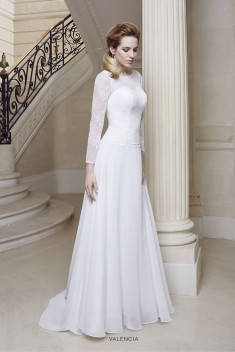 Robe de mariée Topaze par Priam collection 2016