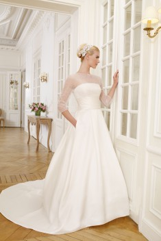 Robe de mariée DUPHOT par Pronuptia collection 2015