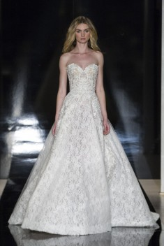 Robe de mariée Leonora par Reem Acra collection 2017