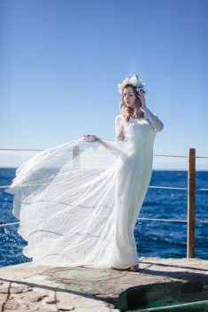Robe de mariée Ava par Constance Fournier collection 2016