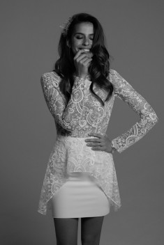 Robe de mariée Sansa par Rime Arodaky collection Civil 2017