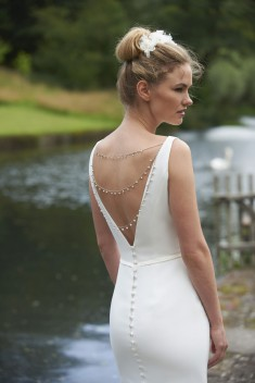 Robe de mariée Lizzy par Stéphanie Allin collection 2016