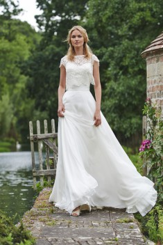 Robe de mariée Lottie par Stéphanie Allin collection 2016