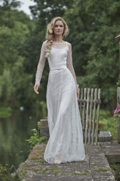 Robe de mariée Anna par Stéphanie Allin collection 2016