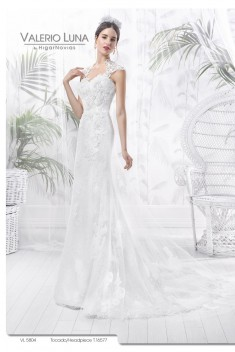 Robe de mariée VL 5804 par Valerio Luna collection 2016
