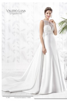 Robe de mariée VL 5817 par Valerio Luna collection 2016