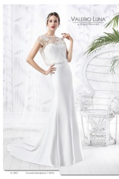 Robe de mariée VL 5827 par Valerio Luna collection 2016