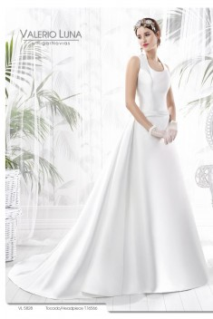 Robe de mariée VL 5828 par Valerio Luna collection 2016