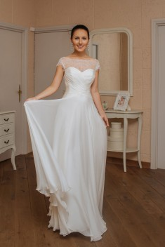 Robe de mariée Veda par Veronika Jeanvie collection 2016