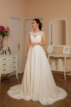 Robe de mariée Veronika  par Veronika Jeanvie collection 2016
