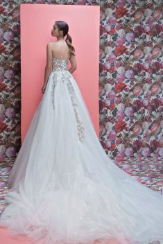 Robe Aelin par Galia Lahav collection queen of hearts 2019