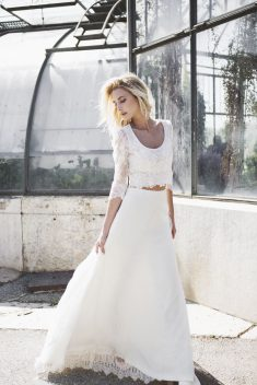 Robe de mariée Artis & Coleen par Caroline Takvorian collection 2018