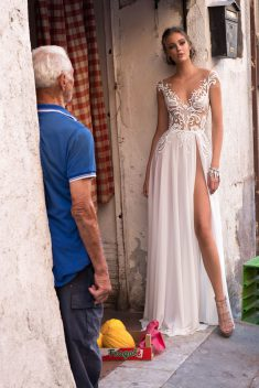 Robe de mariée Bernice par Berta collection Muse 2018 Sicily