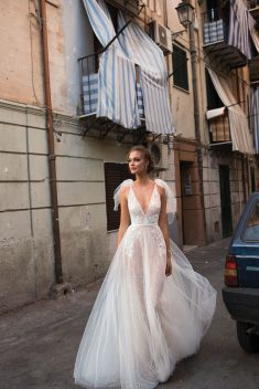 Robe de mariée Bethany par Berta collection Muse 2018 Sicily