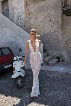 Robe de mariée Beverly par Berta collection Muse 2018 Sicily
